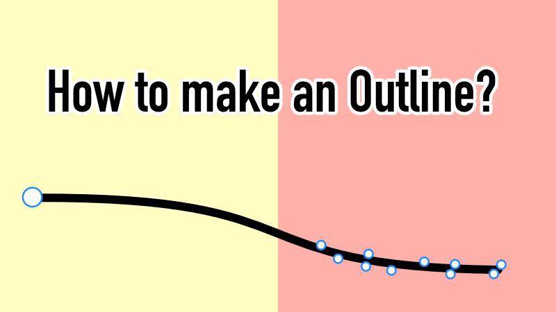 affinity designerの 線のアウトライン化 の方法 affinity tips